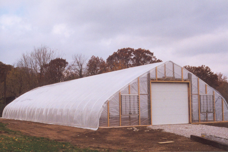 Greenhouse at Community Garden in LaVista Park